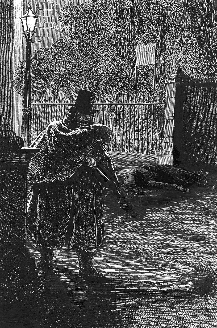 Rostos do crime com Jack the Ripper