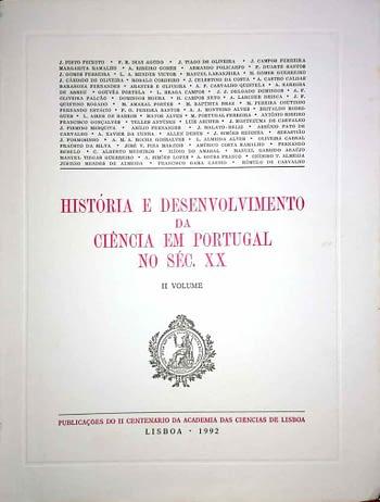 História e Desenvolvimento da Ciência em Portugal Séc. XX (3 vols.)
