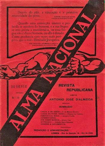 A Alma Nacional. Revista Republicana (15€)