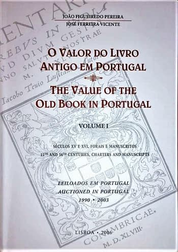 O Valor do Livro Antigo em Portugal | The Value of The Old Book in Portugal