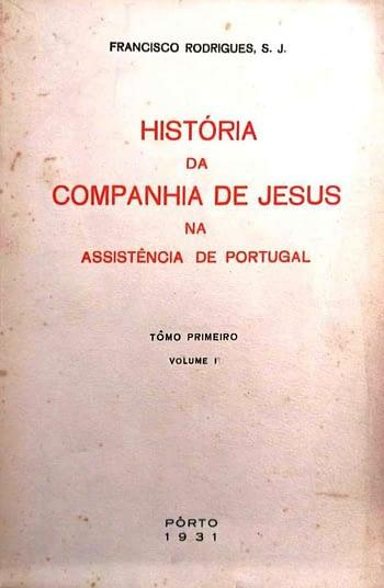 História da Companhia de Jesus na Assistência de Portugal (só 2 volumes)