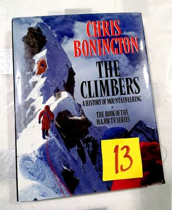 The Climbers. A History of Mountaineering. Chris Bonnington. 13€