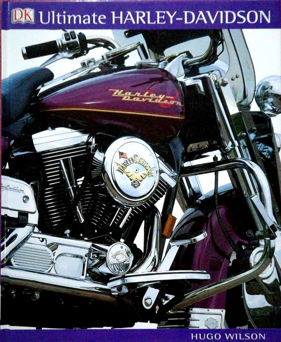 capoa duar com foto de uma moto Harley-Davidson