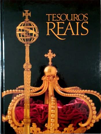 Tesouros Reais Portugueses com coroa e ceptro