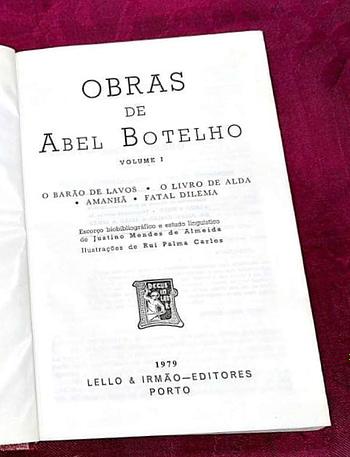 Obras Completas de Abel Botelho