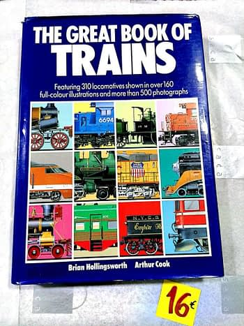 The Great Book of Trains 16€ Brian Hollingsworth e Allan Cook Salamander