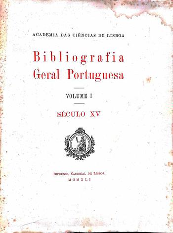 Bibliografia Geral Portuguesa (12)