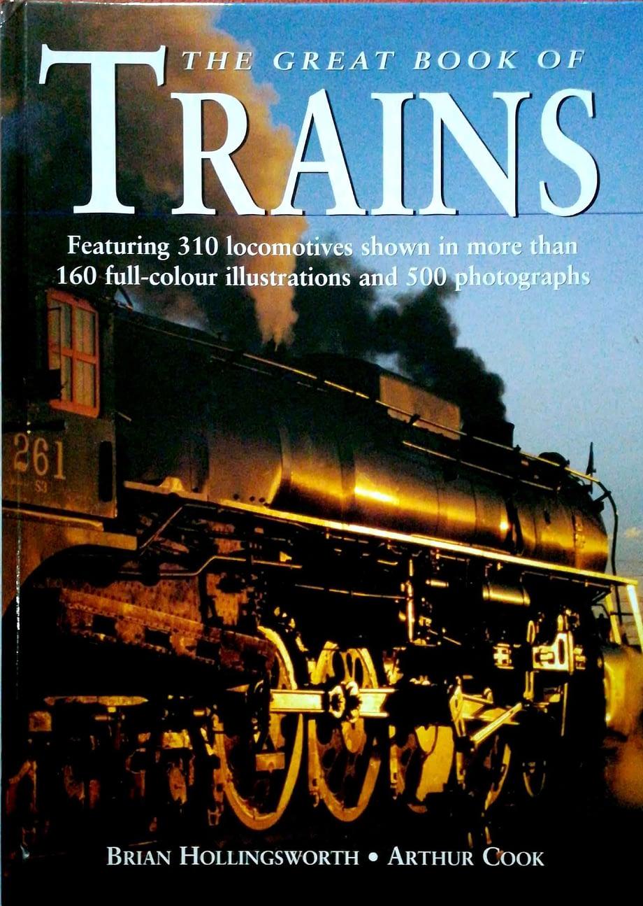 Capa dura História dos Comboios | History of Trains