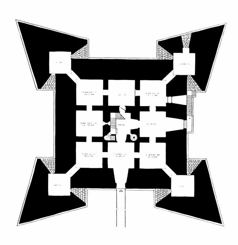 018 La Arquitectura colonial cubana. Siglos XVI al XIX Fortaleza de la Real Fuerza 4
