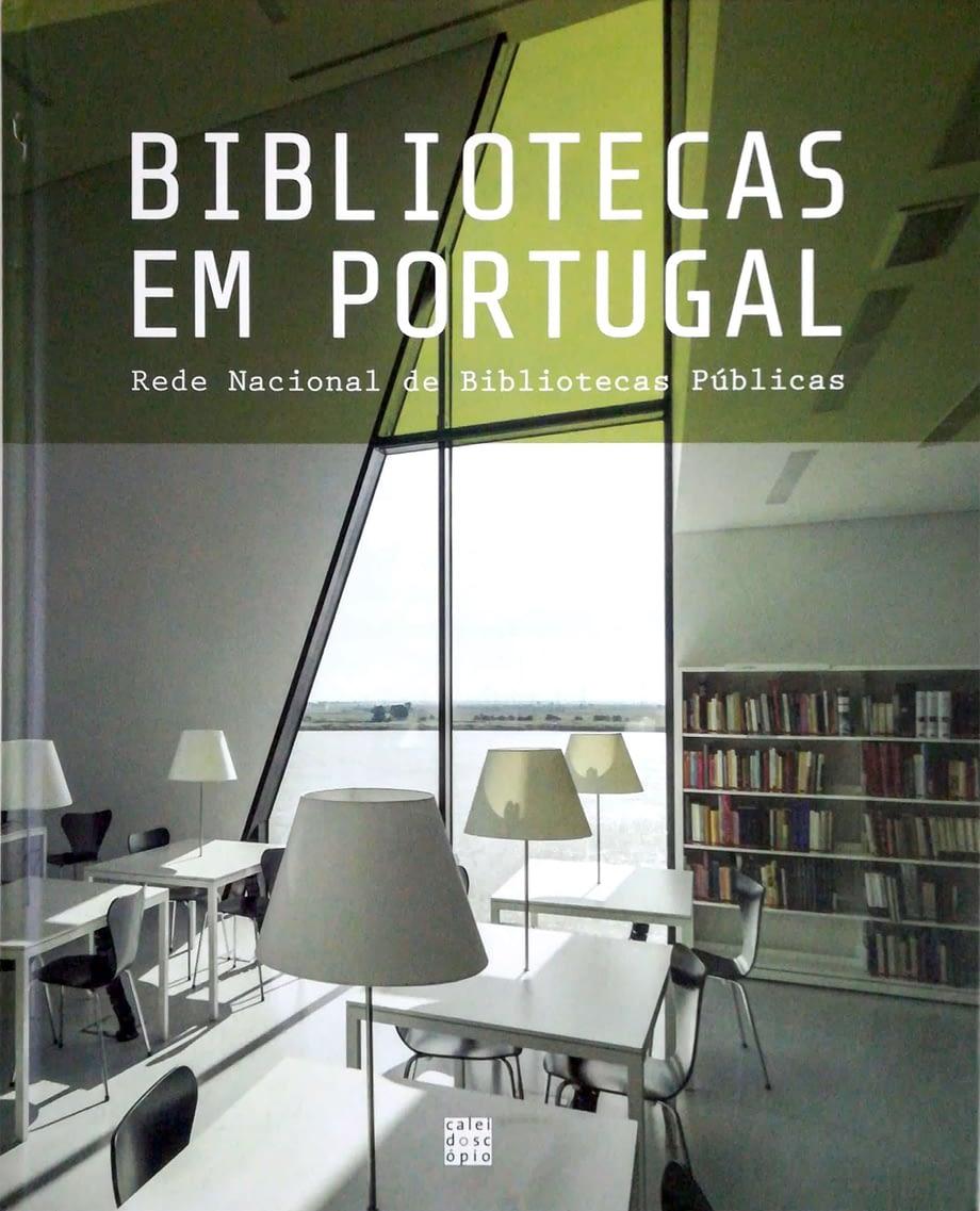 Livro capa dura Bibliotecas em Portugal. Rede Nacional de Bibliotecas Públicas | Libraries in Portugal