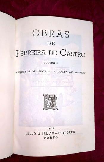 Obras Completas de Ferreira de Castro (4 vols.)