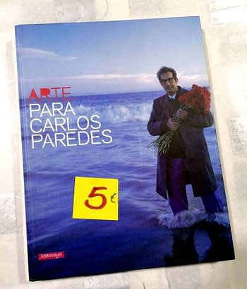 Arte Para Carlos Paredes 5€ Millennium