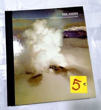 The Andes. The World's Wild Places Time-Life Books. 5€